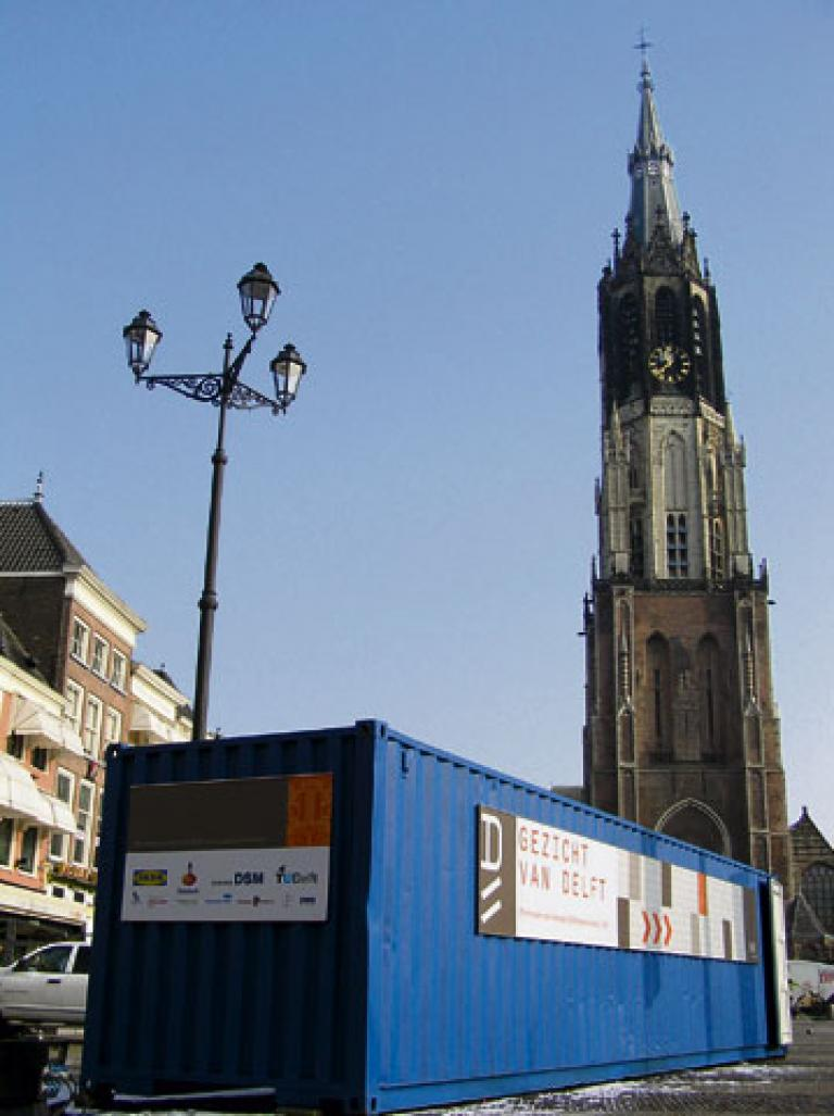 An ugly face of Delft