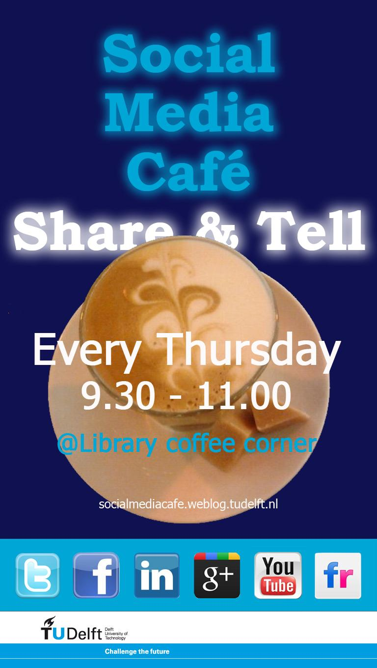 Coffee and Community: TU Delft's Social Media Café