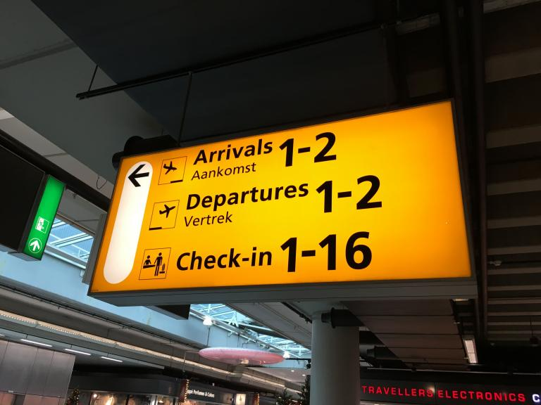 How to improve passport control gates at Schiphol