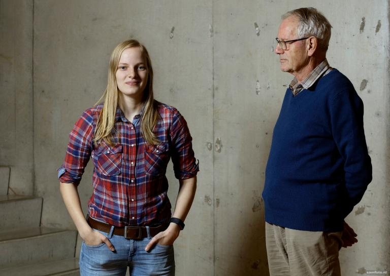 Generations of students have studied at TU Delft. We spoke to grandparents and grandchildren about then and now. This time we talk to Paul Scharp and Cilia Claij.