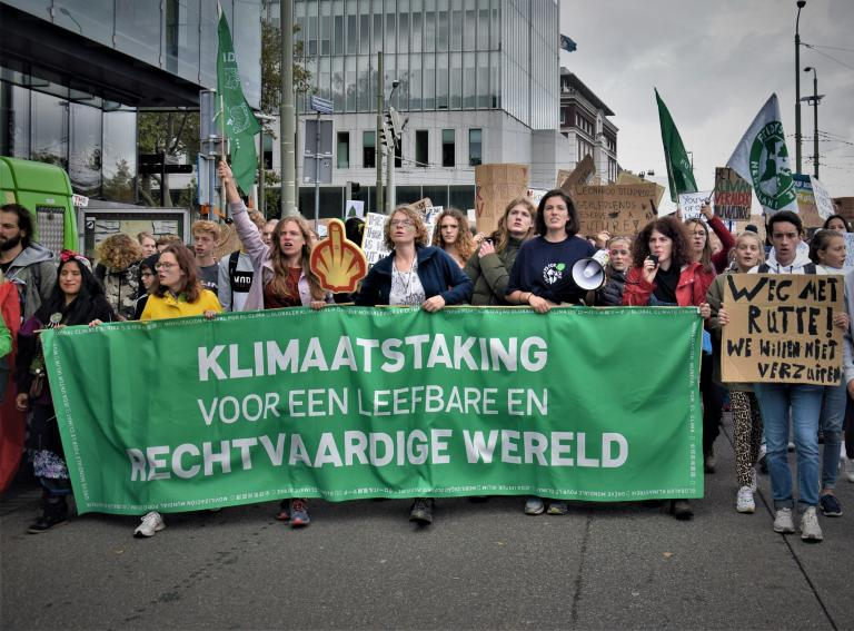 Demanding climate justice, one protest at a time