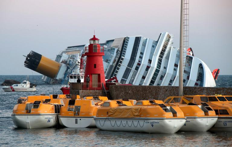 Could airbags prevent damaged ships from capsizing?