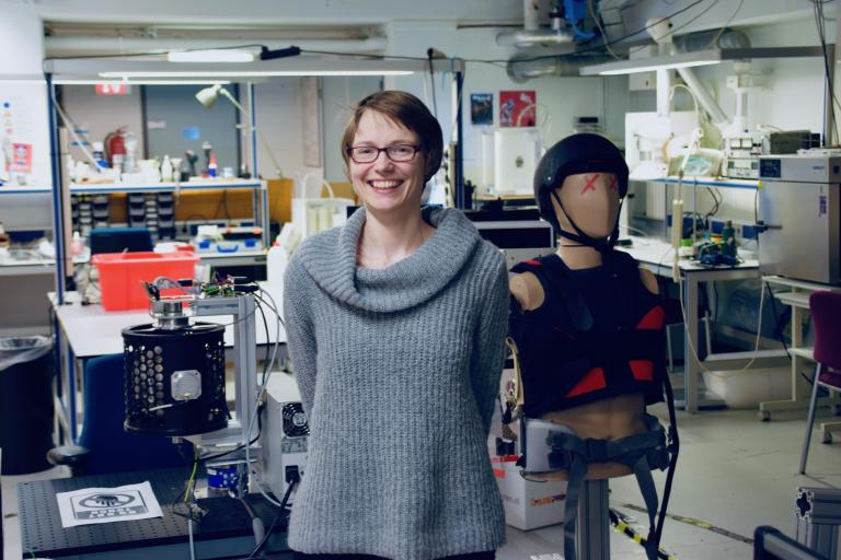 As healthcare becomes increasingly complex, Professor Heike Vallery strives for simpler and lighter systems for learning to walk again.