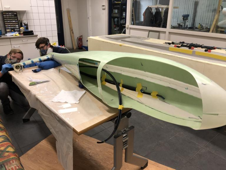 "The pioneering AeroDelft student team will present its hydrogen-powered aircraft prototype on Friday 26 February. ""Hydrogen is the only sustainable future for aviation."""