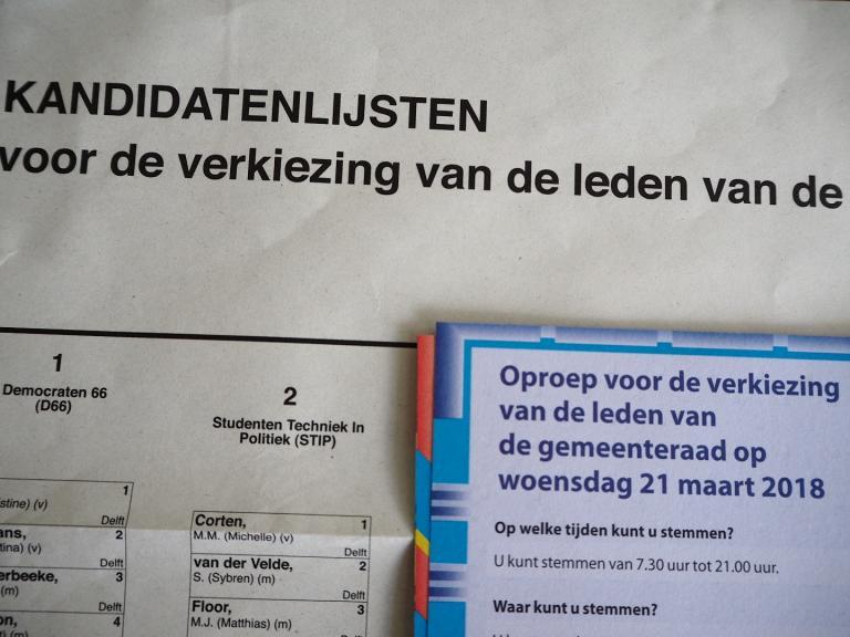 Letter eu students go out and vote stembiljet gemeenteraadsverkiezingen 2018 stopboris Image collections