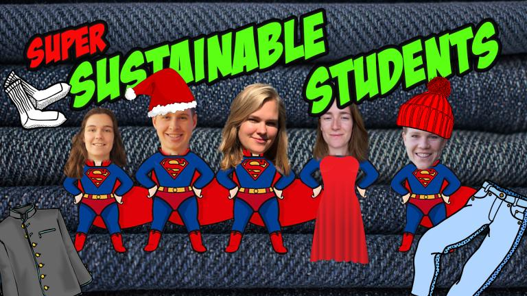 It's the month of Christmas sweaters and ball gowns. But what clothes are the most sustainable? This week our super sustainable students are vlogging about clothing.