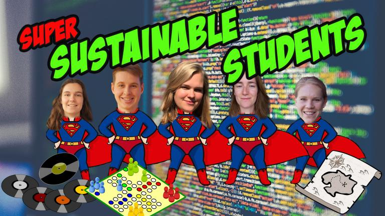 Five Industrial Ecology master students have tried to live more sustainably over the last few weeks. In their last vlog they cut down their internet usage.