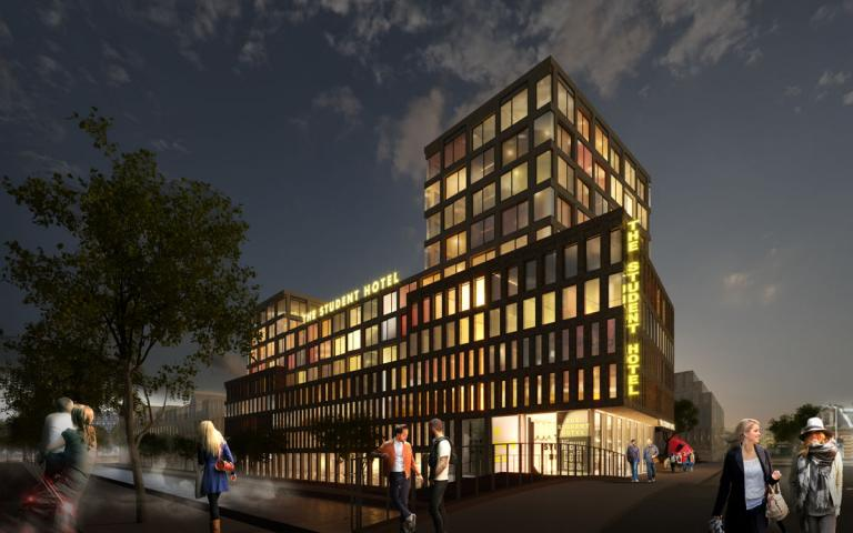 The Student Hotel komt naar Delft (Foto: The Student Hotel)