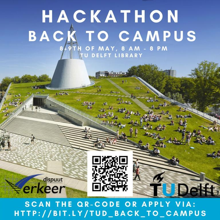 On May 8 and 9, dozens of students will be hacking data in the TU Library. (Image: Jasper Poortvliet)
