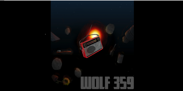 Wolf 359, a dramatic science-fiction podcast