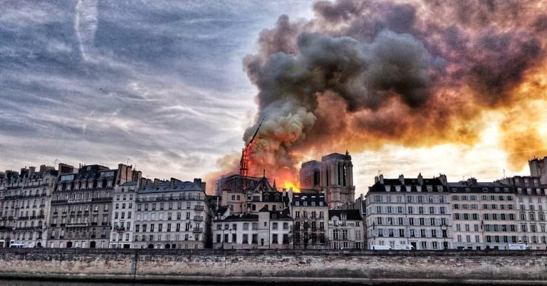 """The Notre-Dame can be rebuilt and open a new chapter for co-creation for European society,"" say TU Delft Professor Uta Pottgiesser and Assistant Professor Frank Koopman."