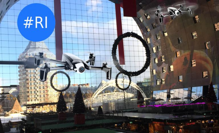 drones in markthal