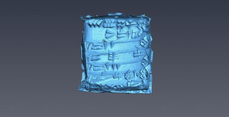 reconstruction inner clay tablet