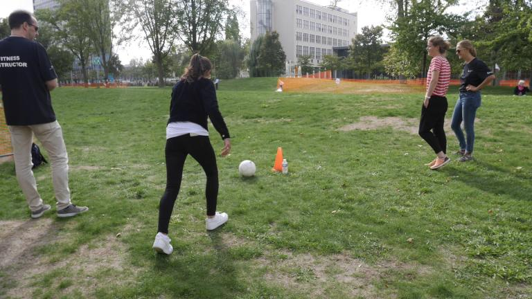 Delta TU Delft Footgolf campus