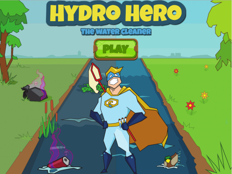 TU Delft Delta Building serious games water lab game hydro hero rubberduck studios